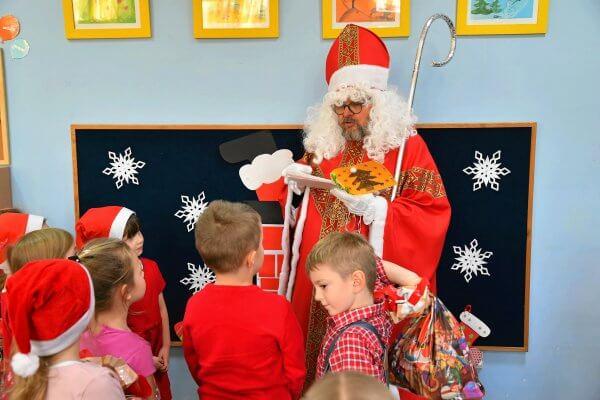 Św. Mikołaj wprzedszkolu