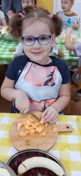 Pyszna sałatka owocowa :)